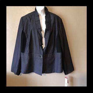 Rafaella 22W nicely designed denim look blazer